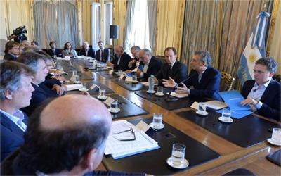 El presidente Macri recibió a la Mesa Foresto Industrial